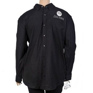 Zoo York True Flex Long Sleeve Button Down